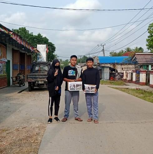 Peduli Kemanusiaan SMK Negeri 5 Pandeglang untuk Rijal Saputra